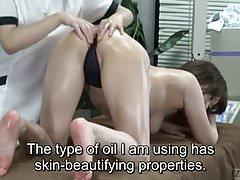 Napisy ENF CFNF Japońska klinika masażu lesbijskiego opieka analna