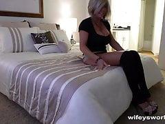Fucking My MILF Neighbor While Wifey Is Away