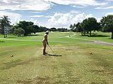 My wife plays golf 1 - public course