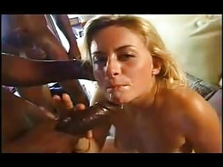 Interracial Hardcore Black video: Euro girls love big black cocks #18