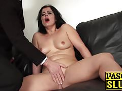 Big ass mature Montse Swinger fingering her wet juicy cunt