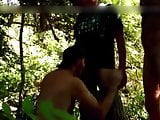 Exhibition and blowjob in the forest 2