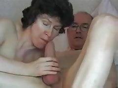 Opas großen Schwanz schlucken