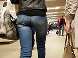 Pretty small ass in the subway