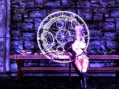 Skyrim sexy dance -Cyber Thunder Cider-HDT (futanari)
