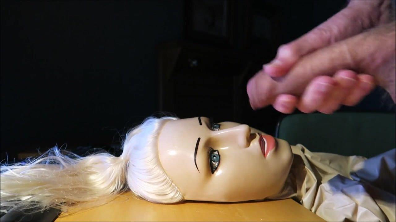 Doll cum on Doll