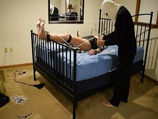 Bdsm Shemale Lingerie Shemale Sex Toy Shemale video: Ronni's Body and Feet are Tortured and Tickled by Master T