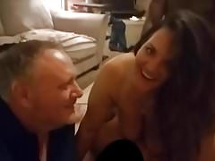 Moglie BBC Double Penetrated Husband Watching