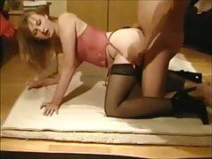 Gorąca piękna żona domowej roboty