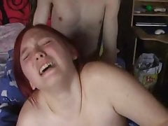 Busty Redhead Get Fucked From Her Bf