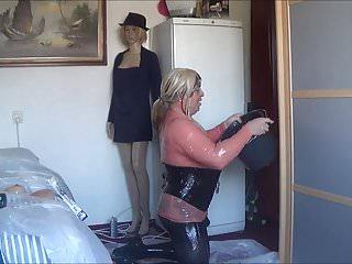 Bukkake Femdom video: Cummm adict