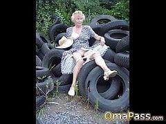 OmaPasS alte nackte Amateur-Porno-Bilder-Diashow