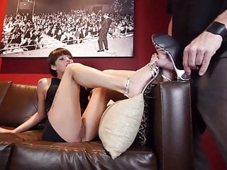 Foot Fetish Footjob Shoejob video: Shoejob footjob