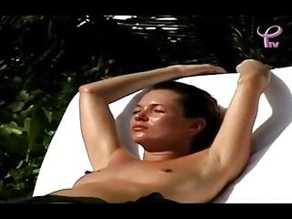 Voyeur Softcore Small Tits video: Rare Kate Moss Topless footage