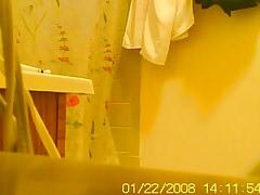 Hidden Cam Wife Out Of Shower Oct 12