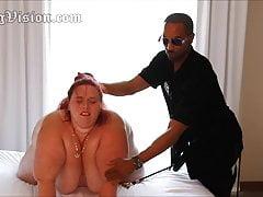 A2M SSBBW Wife Anal Double Penetration Dildo