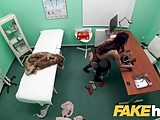 Fake Hospital Sexy fur clad patient wants good fucking