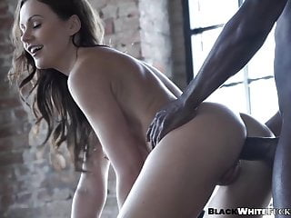 Adorable seductress Tina Kay lets her BBC lover ass fuck her