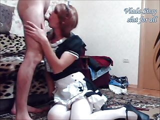 Hd Videos Creampie Shemale Sex Toy Shemale video: Russian sissy slut Vladasexytrans music porn clip