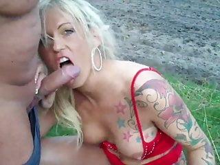 Amateur Outdoor Milf video: Shameless MILF Enjoying Hot Sex with Neighbor Outdoor