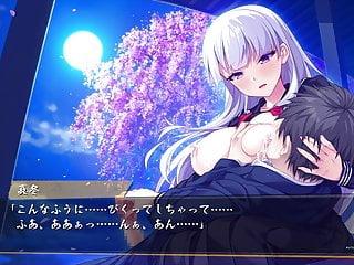 Bukkake Teen Big Tits video: Japanese hentai game BABUMI H-scene 04