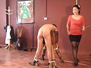 Bdsm Spanking Teen video: Madam Lek Severe Punishment