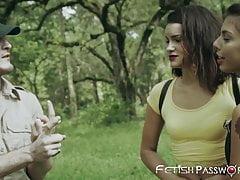 Teen Teen Gina Valentina mit Ranger Hahn dominiert
