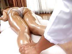 jugendlich Mädchen Athlet Orgasmusmassage