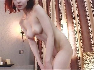 Redhead Girl JOI Masturbation With Big Toy