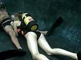 Scuba Blowjob in a Pool