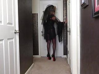 Blonde Big Tits Milf video: Big Hair Mistress Strapon