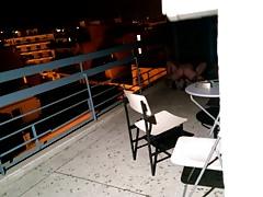 Couple Fucking Loud on Balcony
