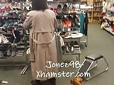 Black And Ebony Grannies video: Black granny upskirt