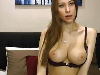 Brunette Big Tits Webcam video: Hot babe with amazing body