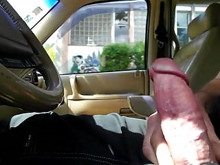 Flashing Outdoor Car video: Flash dick