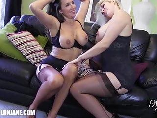 Lesbian Footjob Porn