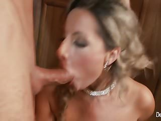 .Horny Daria Glower Ass Fucked At The Bar By Kinky Client.