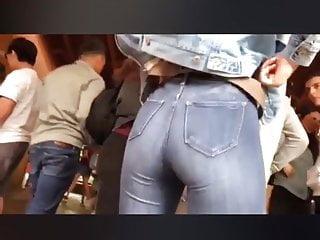 Voyeur Teen Big Ass video: Candid hot teen ass at school