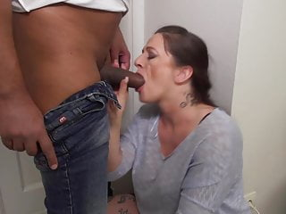 Blowjob Big Tits Milf video: Buxom mothers pleasing young studs