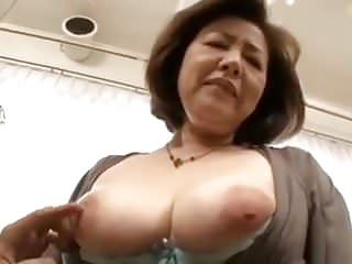 Milfs Japanese Big Tits video: 50yr Old Wife's First Exposure