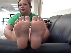 Kims weiche kitzlige Füße