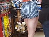 Candid Booty Lovely Legs Tall Pawg Shopping #2