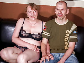 Amateur Hardcore Pov video: AMATEUR EURO - Horny German Couple Film Ther First Sex Tape