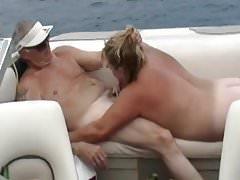Dzielenie się żoną na łodzi