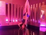 Megan McDuffee, erotic pole dancing
