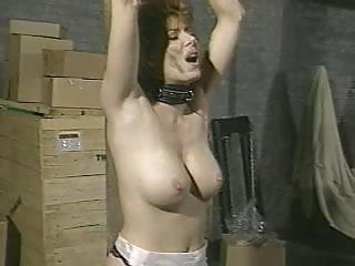 Small Tits Lesbian Whipping video: Dungeon Dementia (90s)