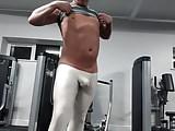 Arroyman bulge tights at the gym