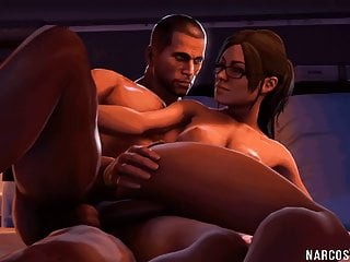 Cartoon Hd Videos video: Sexy brunette Andromeda babe fucked by captain