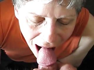 Porno video: Granny Cum Eater