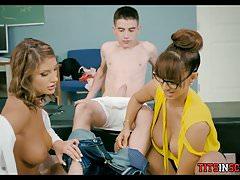 School Nurses Treat Students Cock